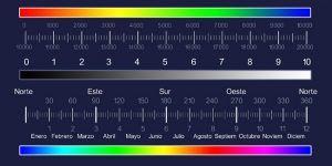 escala bovis colores